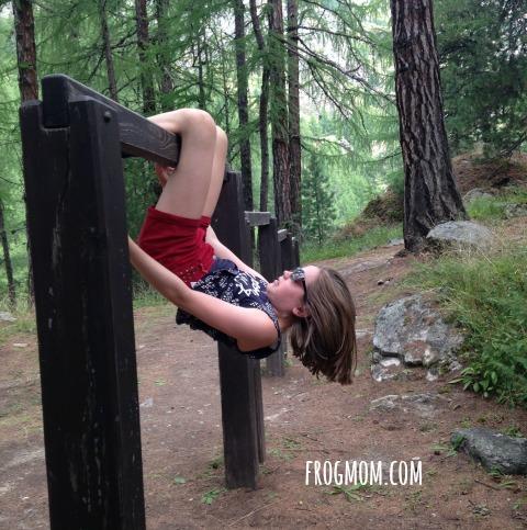 Outdoor Breaks for Road Trips - Outdoor Gym