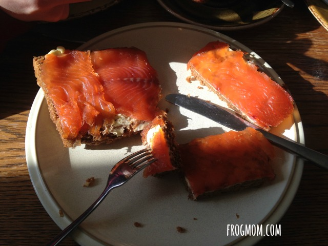 Fish Food Adventures with Kids in Iceland - Smoked Trout