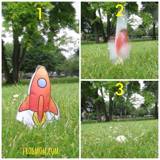 DIY Rockets for Kids - Vitamin C Rocket