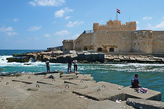 Lighthouse Hikes around the World - Qaitbay Fortress