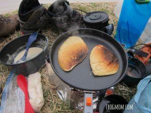 DIY Pancake Mix Recipe for Camping - Set Up