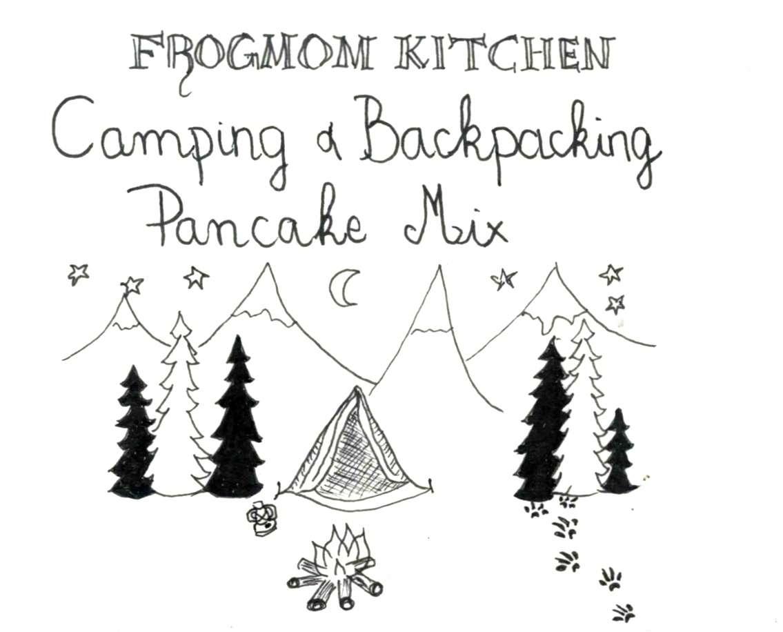 DIY Pancake Mix for Camping - Camping in Scotland