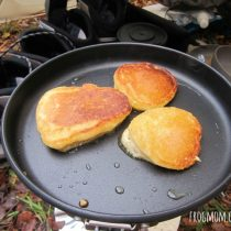 DIY Pancake Mix Recipe for Camping - Three Pancakes Cooking