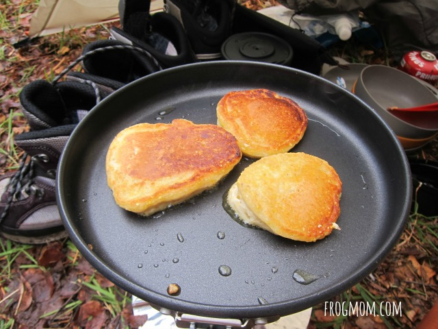 DIY Pancake Mix Recipe for Camping - Three Pancakes Cooking