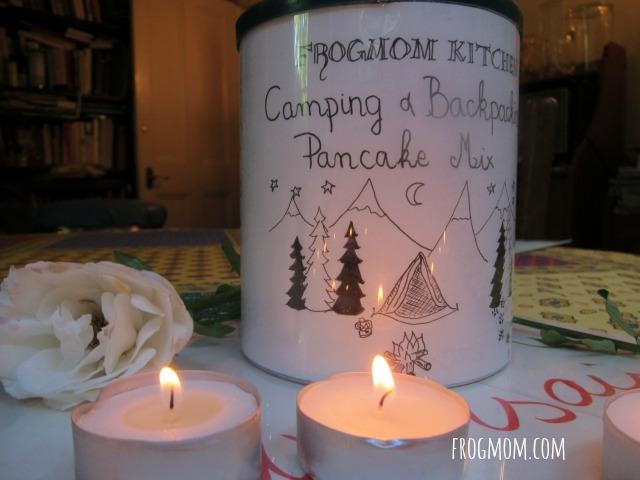 DIY Pancake Mix REcipe for Camping - Birthday