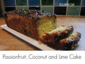 Passionfruit Coconut and Lime Cake Recipe