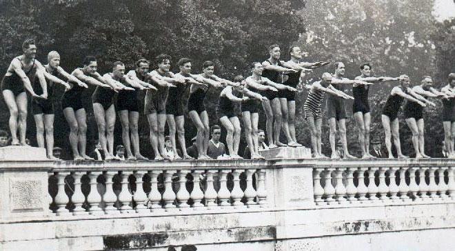 Passionfruit cake - Serpentine Bridge to Bridge Swim Race