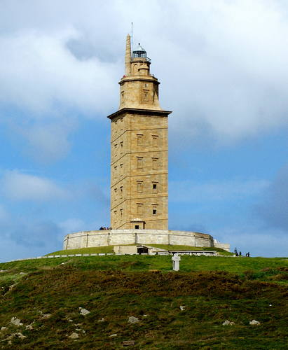 Lighthouse Hikes around the World - Tower of Hercules