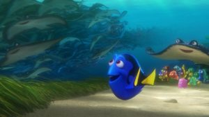 Ocean animals and Finding Dory