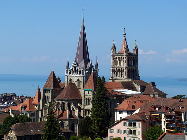 Lausanne with Kids - Cathedral