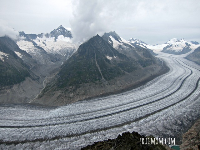 Jungfrau-Aletsch World Heritage Site with Kids - Aletsch Glacier