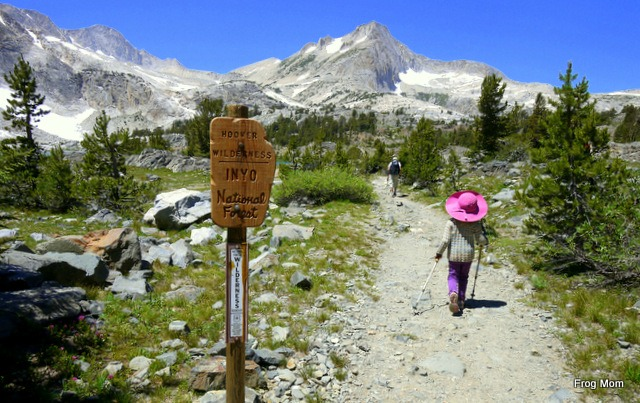 How to Cool Down when Hiking with Kids - Hats