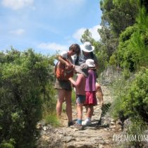 Cooling Down when Hiking with Kids - Water Stop