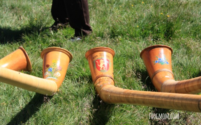 Jungfrau-Aletsch World Heritage Site - Alphorns upclose