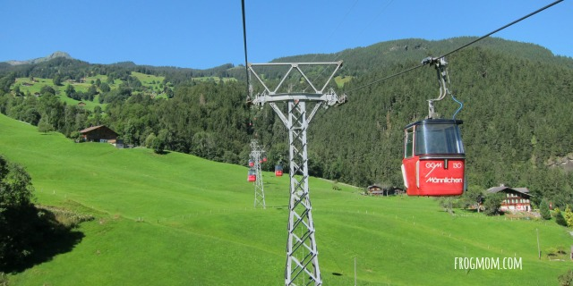 JUngfrau-Aletsch World Heritage Site - Maennlichen Gondola