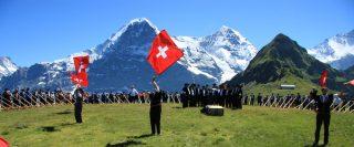 Jungfrau-Aletsch World Heritage Site - Alphorn Concert
