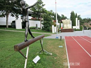 Lausanne with Kids - Olympic Museum