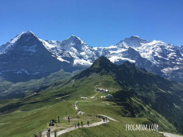 Jungfrau-Aletsch World Heritage Site - View from the Royal Walk