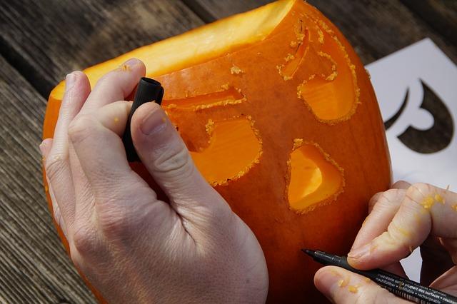 Family Fun Fall Activities - Carving Pumpkins