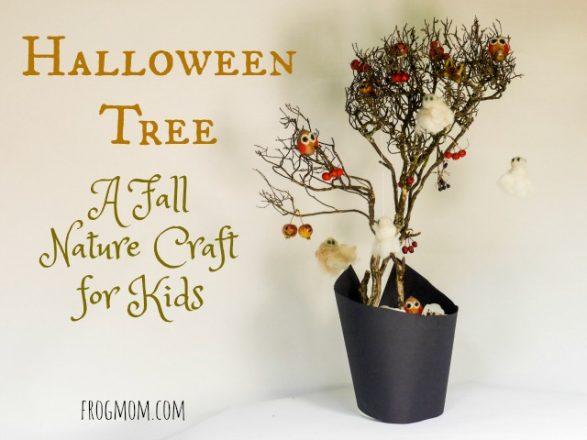 Halloween Tree DIY