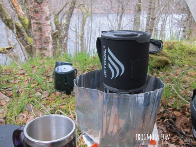 JetBoil Zip Review - WindScreen