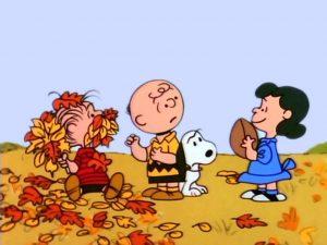 Celebrate Fall like Snoopy