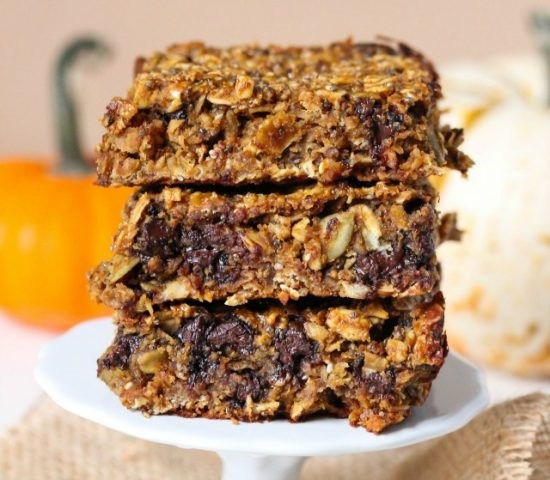 Pumpkin Recipes for Kids - Pumpkin Bars