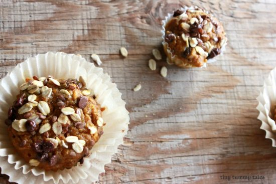 Pumpkin Recipes for Kids - Pumpkin Chip Muffin