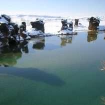 Lake Myvatn in Iceland