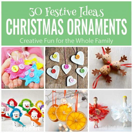 30 Christmas Ornaments