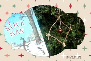Stick Man Twig Christmas Ornament