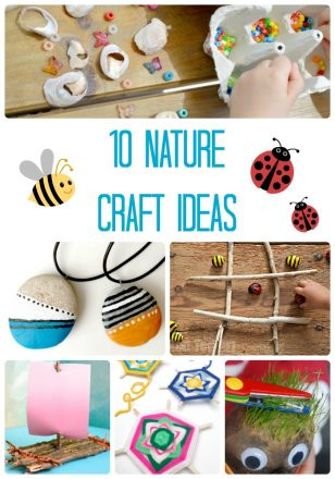 10 Nature Craft Ideas