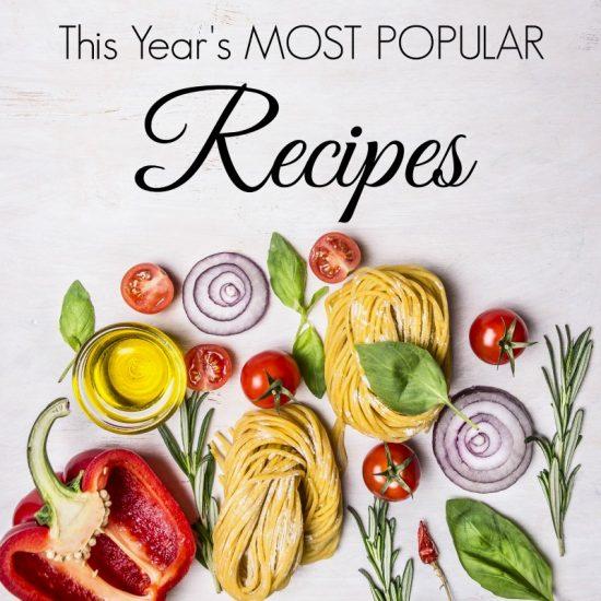 Top 10 Recipes of 2016