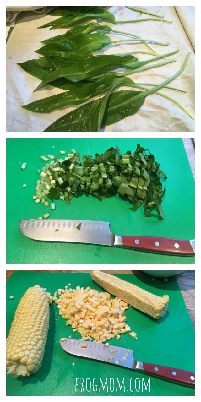 Wild Garlic Griddle Cakes