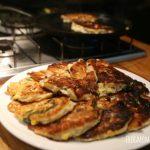 Wild Garlic and Corn Griddle Cakes Recipe
