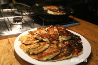 Wild Garlic Griddle Cakes