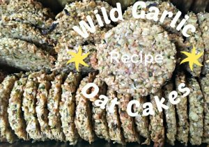Wild Garlic Oat Cakes