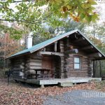 A Rustic Log Cabin Camping Adventure in New England
