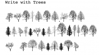 How to write in tree