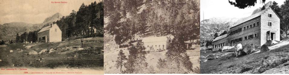 Refuge Wallon Marcadau - Photos historiques