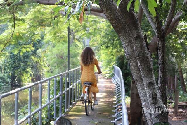 Bang Krachao - Cycling lane