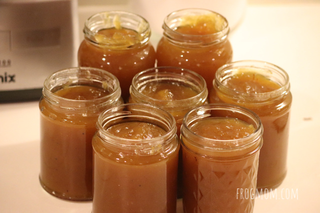 Spiced pumpkin jam recipe