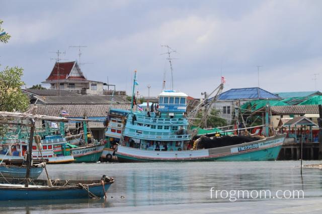 Pran Buri fishing village, Thailand