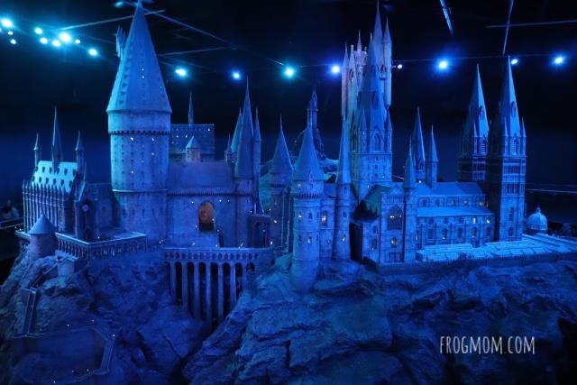 Hogwarts model at Harry Potter studios