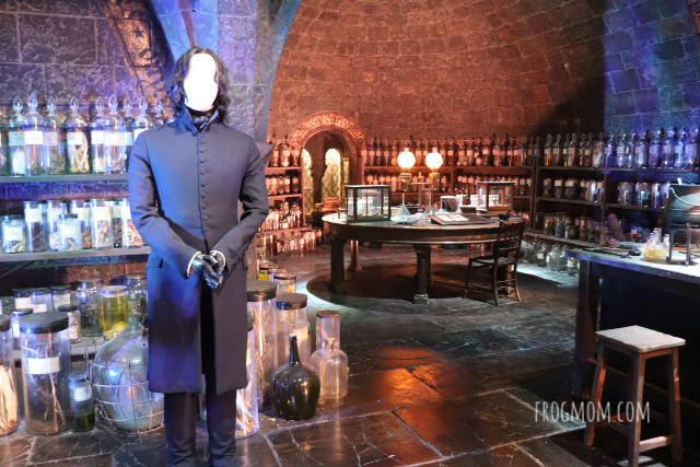 Potions classroom - Harry Potter studios