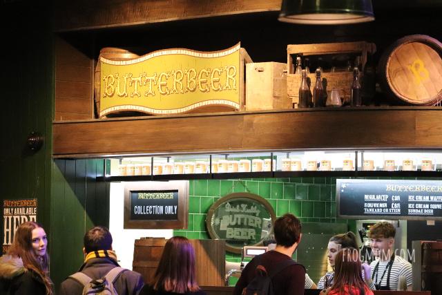 Butterbeer cafe - Harry Potter studios