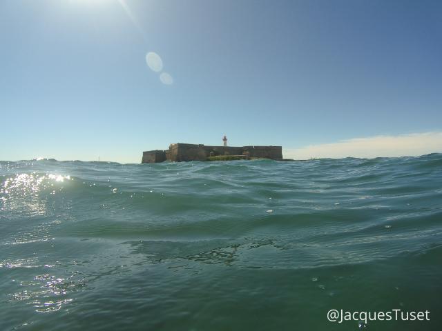 Swimming to Fort de Brescou
